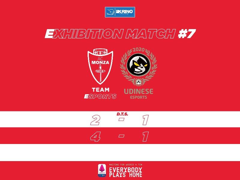 WIN | VS UDINESE ESPORTS