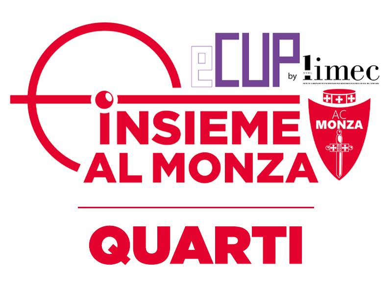 QUARTI DI FINALE - INSIEME AL MONZA E-CUP BY LIMEC