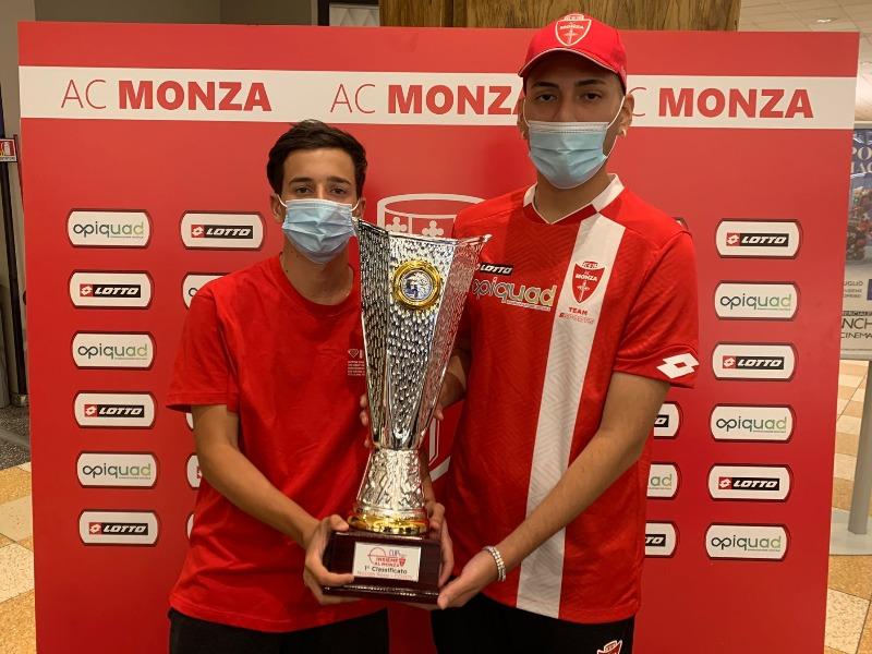 Premiato Niccolò Rossi: vincitore della Insieme al Monza e-cup by Limec
