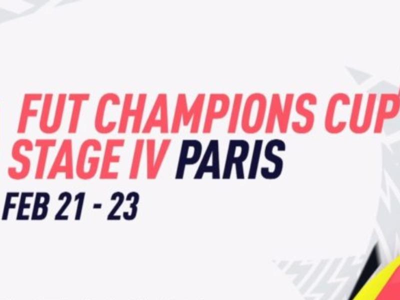 Raffaele Cacciapuoti alla FUT Champions Cup di Parigi!