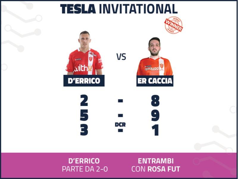 4 | ANDREA D'ERRICO VS ER CACCIA