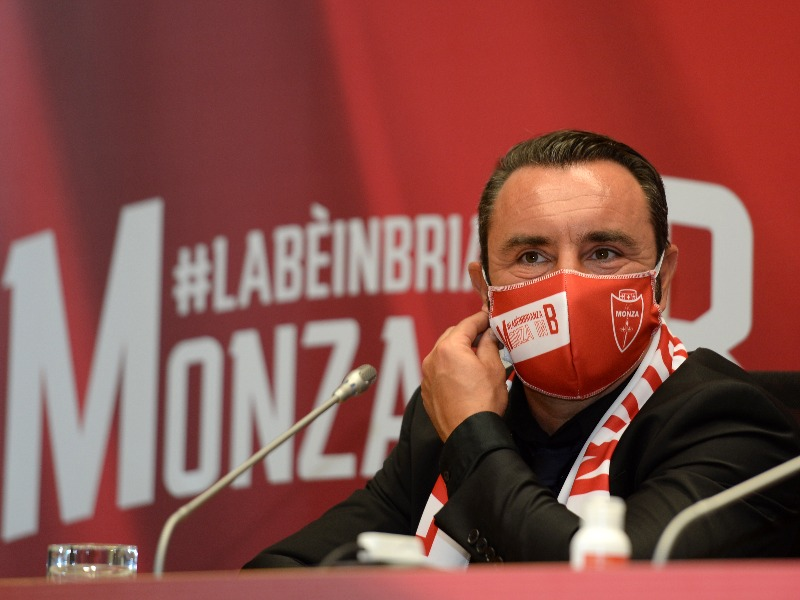 Press conference   Monza in B