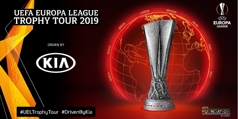 L'UEFA Trophy Tour by KIA 2019 a Monza!