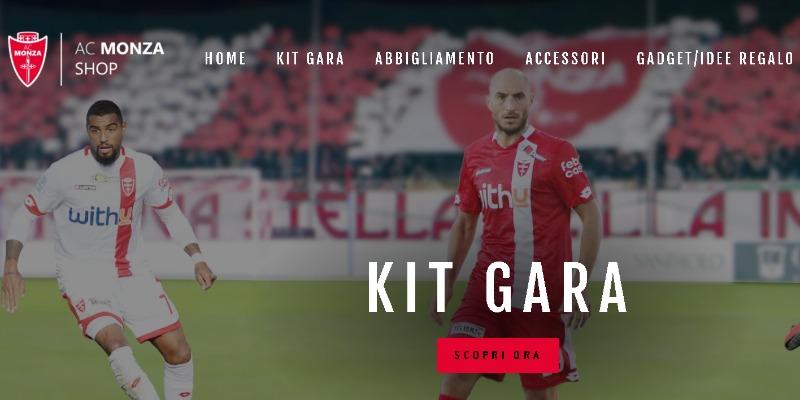 Online il nuovo shop ufficiale AC Monza