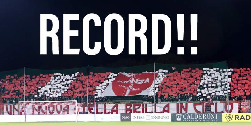 Monza - Como, è record di spettatori!