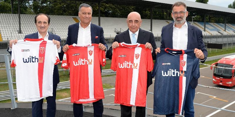 2020 2021kits Unveiled At The Autodromo Nazionale Of Monza Associazione Calcio Monza S P A