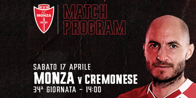 Monza - Cremonese: Match Program