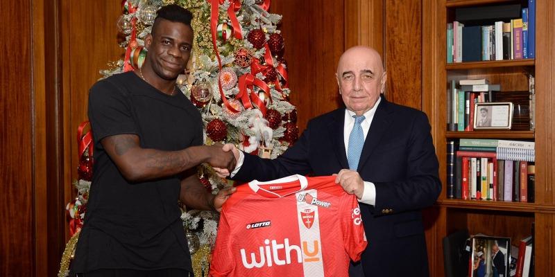 Mario Balotelli Joins Ac Monza Associazione Calcio Monza S P A