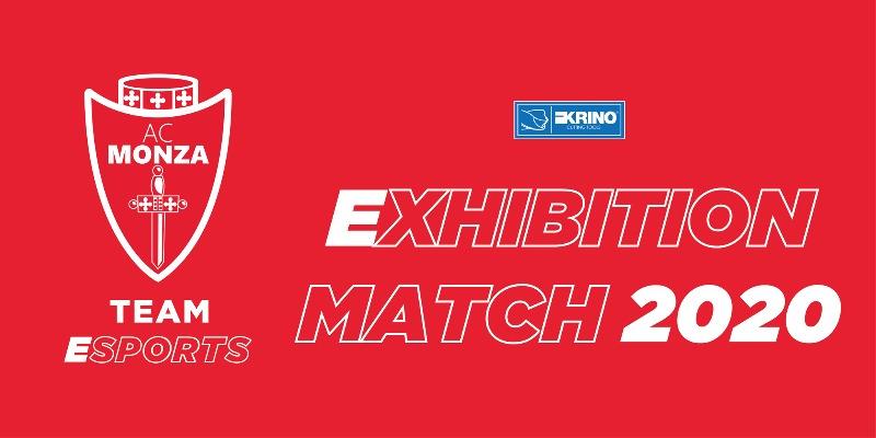 AC Monza Team eSports: al via gli Exhibition Match 2020
