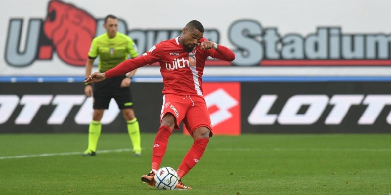 Boa-gol, ma il Chievo passa all'U-Power Stadium