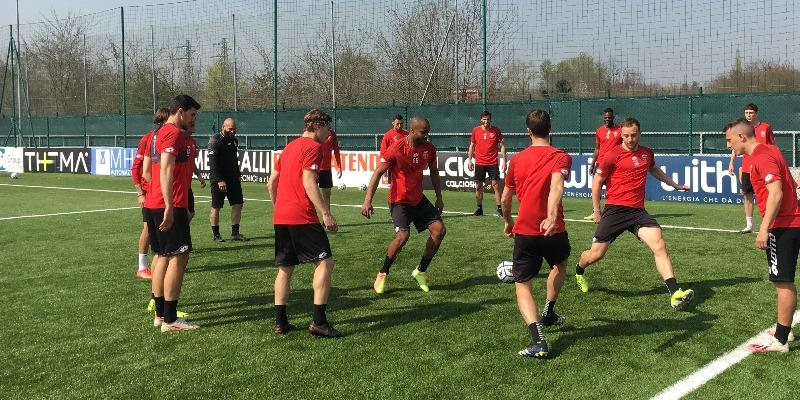 Mister Brocchi calls 22 players for the match against Virtus Entella